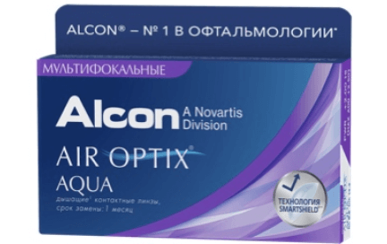 air optix multifocal lenses pack