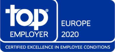 Top Employer Europe Award 2020