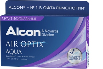 ALCON® AIR OPTIX® AQUA MULTIFOCAL