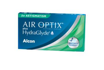 ALCON® AIR OPTIX® PLUS HYDRAGLYDE FOR ASTIGMATISM