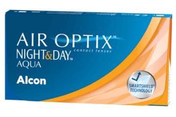 ALCON® AIR OPTIX®NIGHT & DAY®AQUA